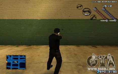 C-HUD by SampHack v.6 para GTA San Andreas segunda pantalla