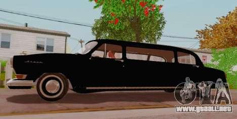 GAZ 21 de Limusinas para GTA San Andreas left