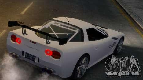 Coquette Racing para GTA 4 Vista posterior izquierda