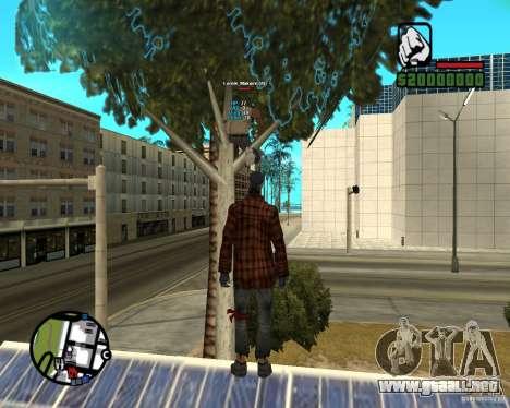 Players Informer para GTA San Andreas segunda pantalla