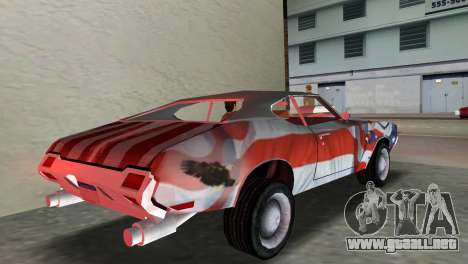 Oldsmobile 442 1970 v2.0 para GTA Vice City left