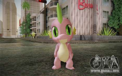 Spike from My Little Pony Friendship para GTA San Andreas
