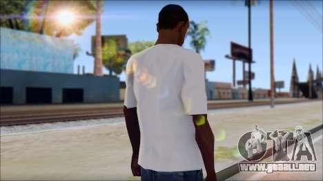 Slash T-Shirt para GTA San Andreas segunda pantalla