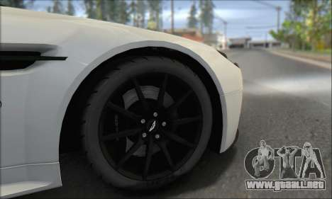Aston Martin V12 Vantage S 2013 para la vista superior GTA San Andreas