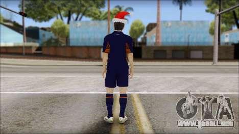 Messi Arsenal Christmas Special para GTA San Andreas segunda pantalla