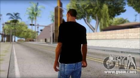 Stiff Little Fingers T-Shirt para GTA San Andreas segunda pantalla