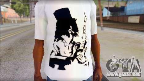 Slash T-Shirt para GTA San Andreas tercera pantalla