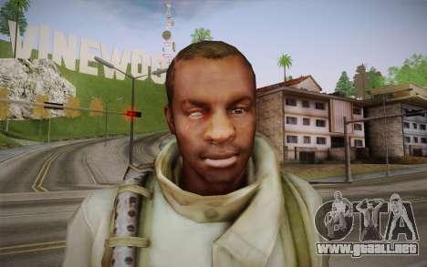 Shona from Resident Evil Operation Raccoon City para GTA San Andreas tercera pantalla