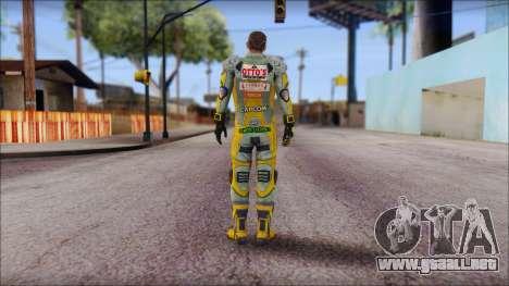 Piers Amarillo no Gorra para GTA San Andreas segunda pantalla