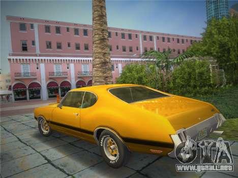Oldsmobile 442 1970 para GTA Vice City left