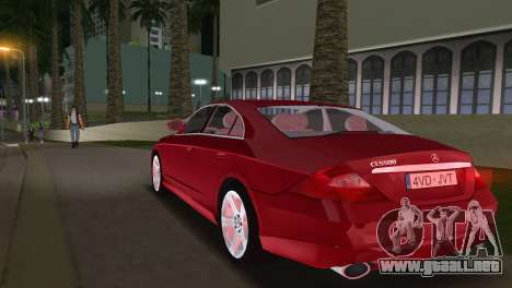 Mercedes-Benz CLS500 para GTA Vice City left