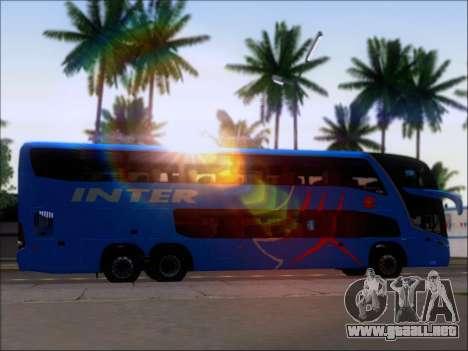 Marcopolo Paradiso G7 1800 DD Inter Sur para GTA San Andreas interior