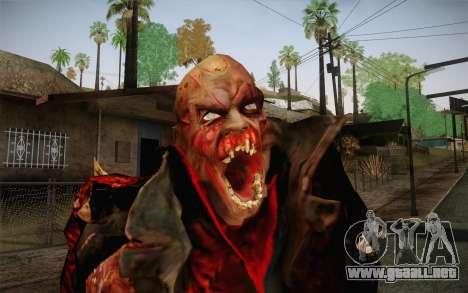Zombie Heller from Prototype 2 para GTA San Andreas tercera pantalla