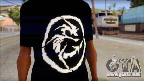 E Logo T-Shirt para GTA San Andreas tercera pantalla