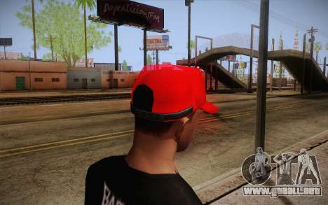 Super Mario Cap para GTA San Andreas segunda pantalla