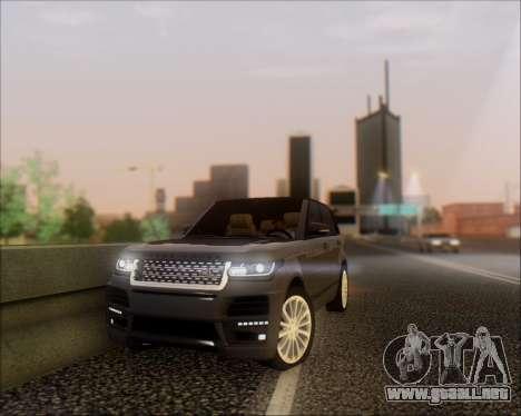 Land Rover Range Rover Startech para GTA San Andreas