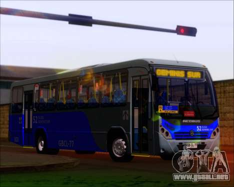 Neobus Spectrum City Mercedes Benz OF-1722 para GTA San Andreas left