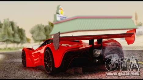 Mazda Furai 2008 para GTA San Andreas left
