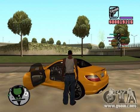 DLock para GTA San Andreas tercera pantalla