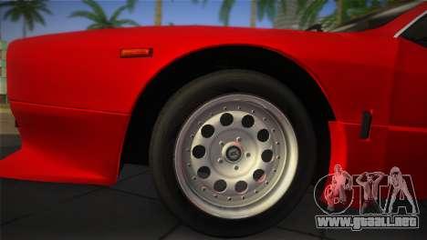 Lancia Rally 037 1982 para GTA Vice City visión correcta