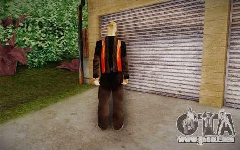 Corey Taylor Skin para GTA San Andreas segunda pantalla