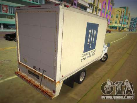 Ford E-350 1988 Cube Truck para GTA Vice City left