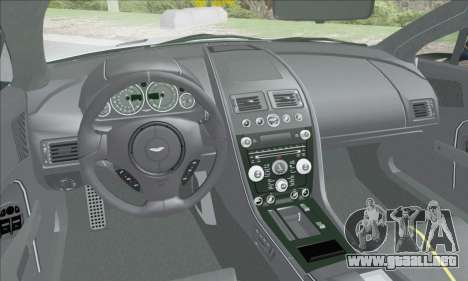 Aston Martin V12 Vantage S 2013 para vista inferior GTA San Andreas