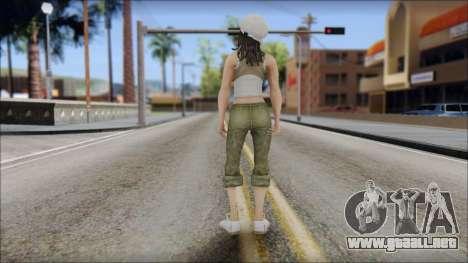 Un Aspirante A Miss para GTA San Andreas segunda pantalla