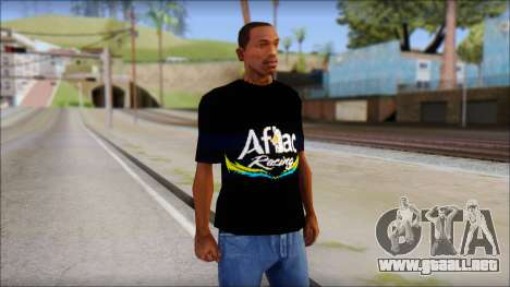 Fictional Carl Edwards T-Shirt para GTA San Andreas