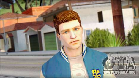 Ted from Bully Scholarship Edition para GTA San Andreas
