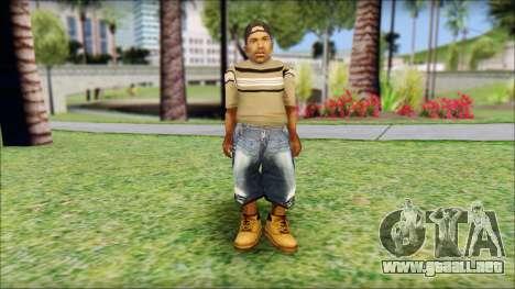 CJ Dwarf v2 para GTA San Andreas