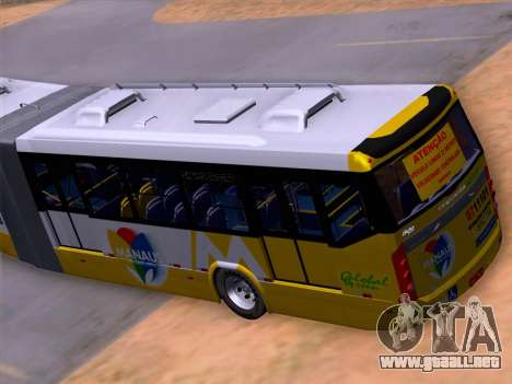 Прицеп Neobus Mega BHNS Volvo B12-340M para vista inferior GTA San Andreas