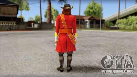 Morgan para GTA San Andreas segunda pantalla