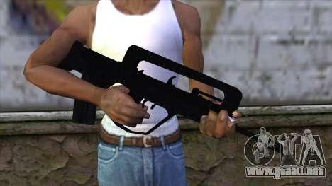 Famas from CS:GO v2 para GTA San Andreas tercera pantalla