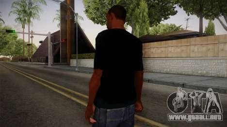 HULK T-Shirt para GTA San Andreas segunda pantalla
