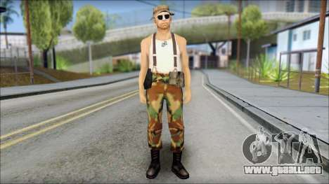 Teniente Armstrong para GTA San Andreas
