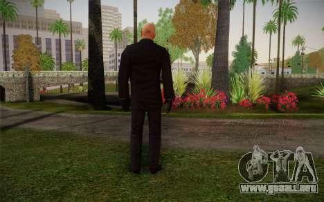 Hitman Blood Money Agent 47 para GTA San Andreas segunda pantalla