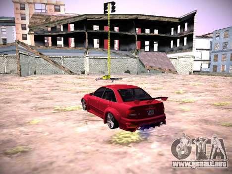 Audi A4 Extrema para GTA San Andreas left