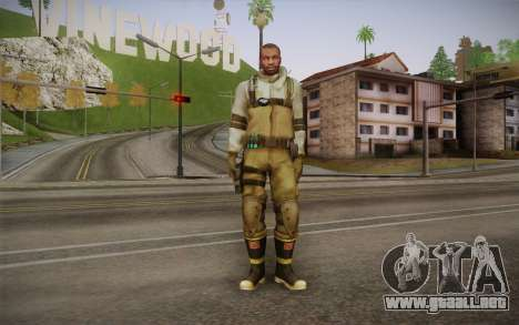 Shona from Resident Evil Operation Raccoon City para GTA San Andreas