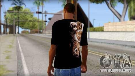 Randy Orton Black Apex Predator T-Shirt para GTA San Andreas segunda pantalla