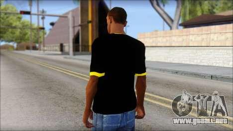 Batman T-Shirt para GTA San Andreas segunda pantalla