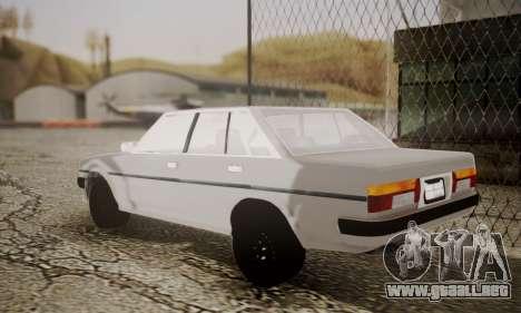 Toyota Cressida 1987 para GTA San Andreas left