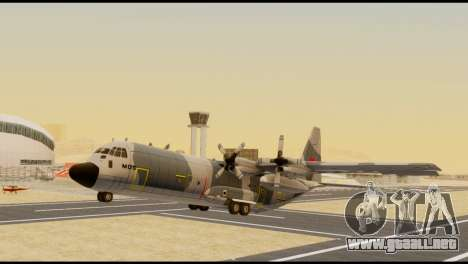 C-130 Hercules Indonesia Air Force para la visión correcta GTA San Andreas