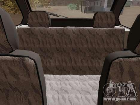 VAZ 21083 para vista lateral GTA San Andreas