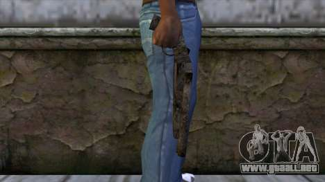 Beta Sawnoff with Orginal Texture para GTA San Andreas tercera pantalla