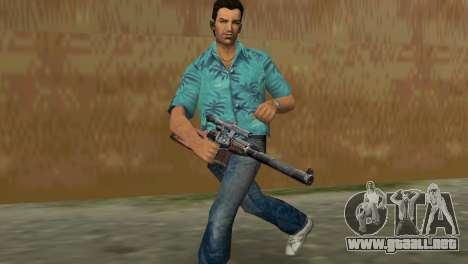 Rifle De Francotirador Especial para GTA Vice City tercera pantalla