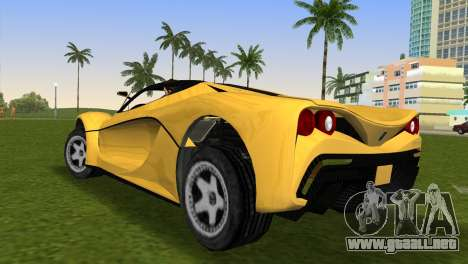 Turismo R from GTA 5 para GTA Vice City left