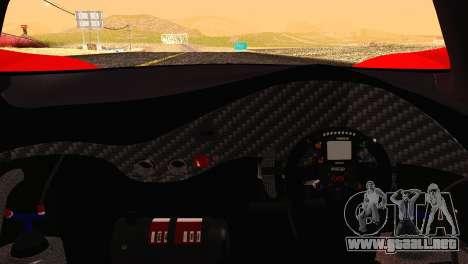 Mazda Furai 2008 para vista lateral GTA San Andreas