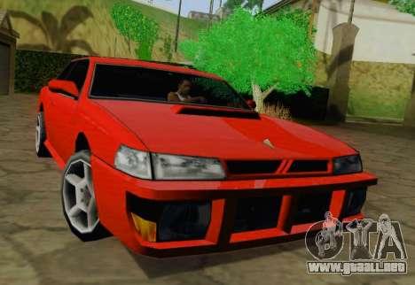 Sultan Coupe para GTA San Andreas left