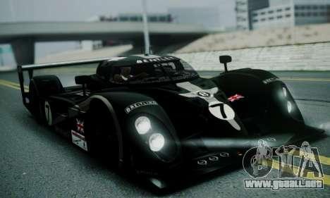 Bentley Speed 8 2003 para GTA San Andreas